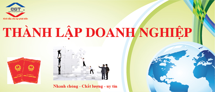 Thanh lap cong ty